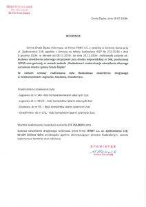 thumbnail of Referencje ŚRODA ŚLĄSKA 1 dla ITINET