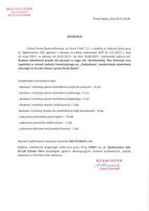 thumbnail of Referencje ŚRODA ŚLĄSKA 2 dla ITINET