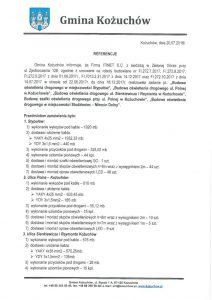 thumbnail of Referencje KOŻUCHÓW dla ITINET